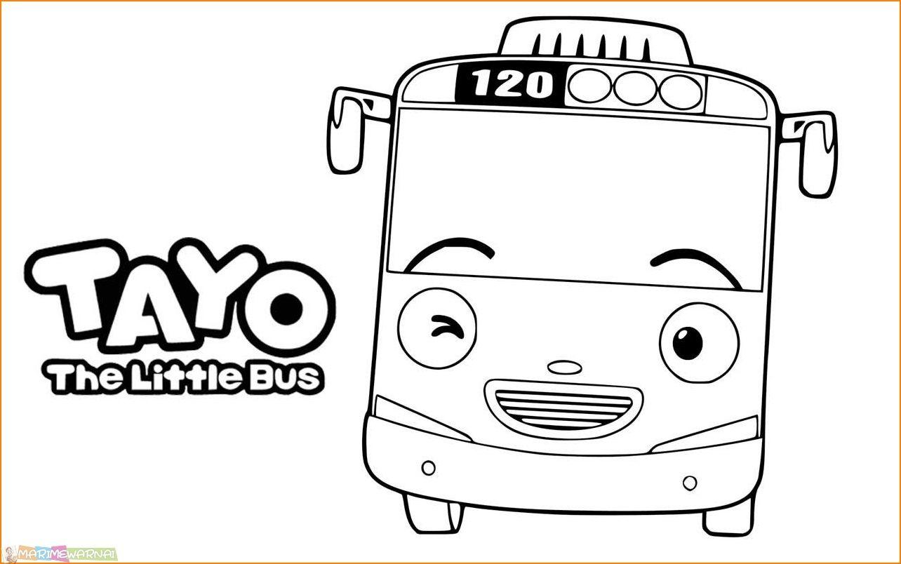 Unduh 4700 Gambar Animasi Tayo Hitam Putih Hd Terbaik Tayo The Little Bus Little Bus Gambar Tayo