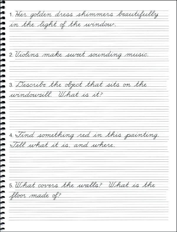 15++ Cursive writing sentences worksheets pdf Images