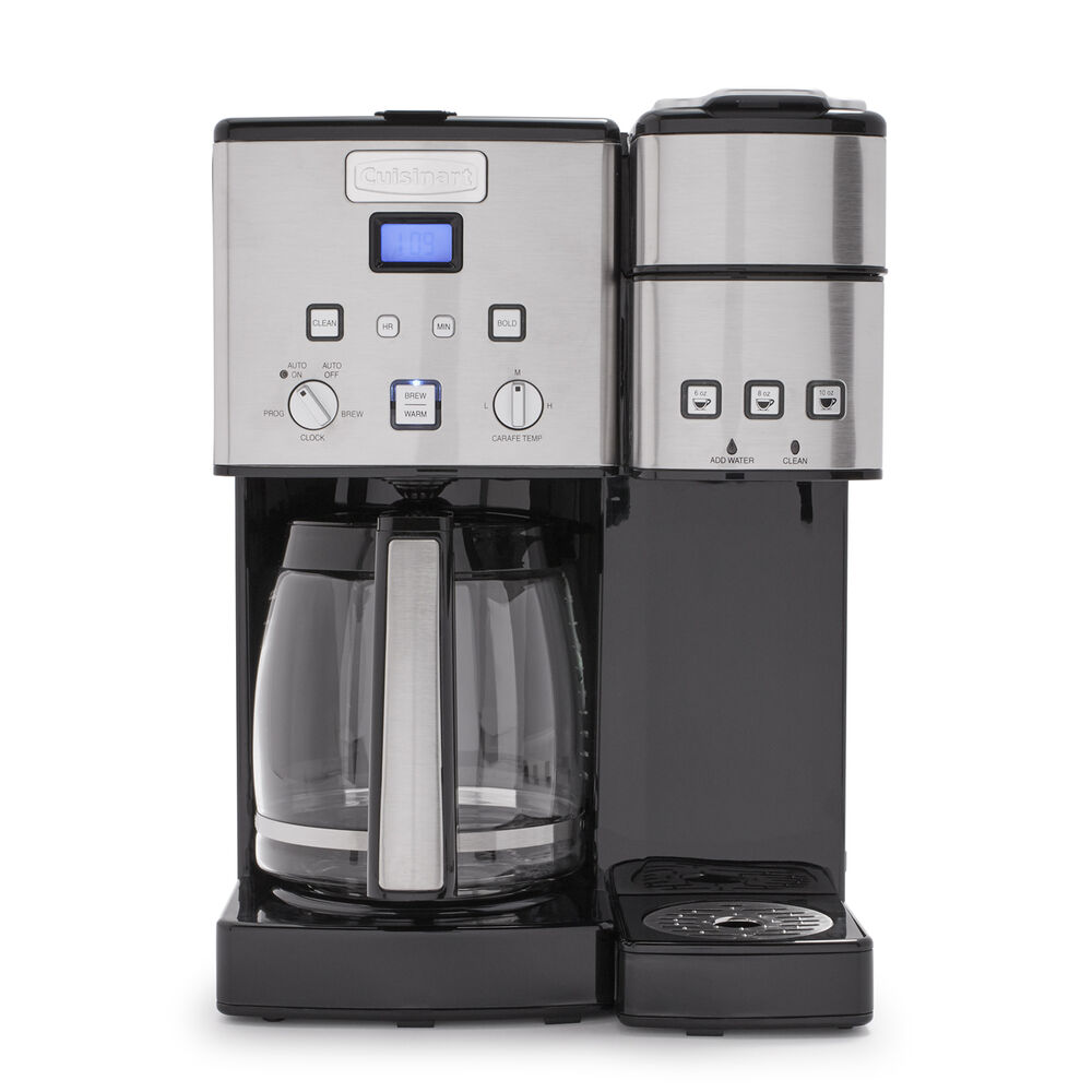 Cuisinart Coffee Center 12Cup Coffee Maker and Single