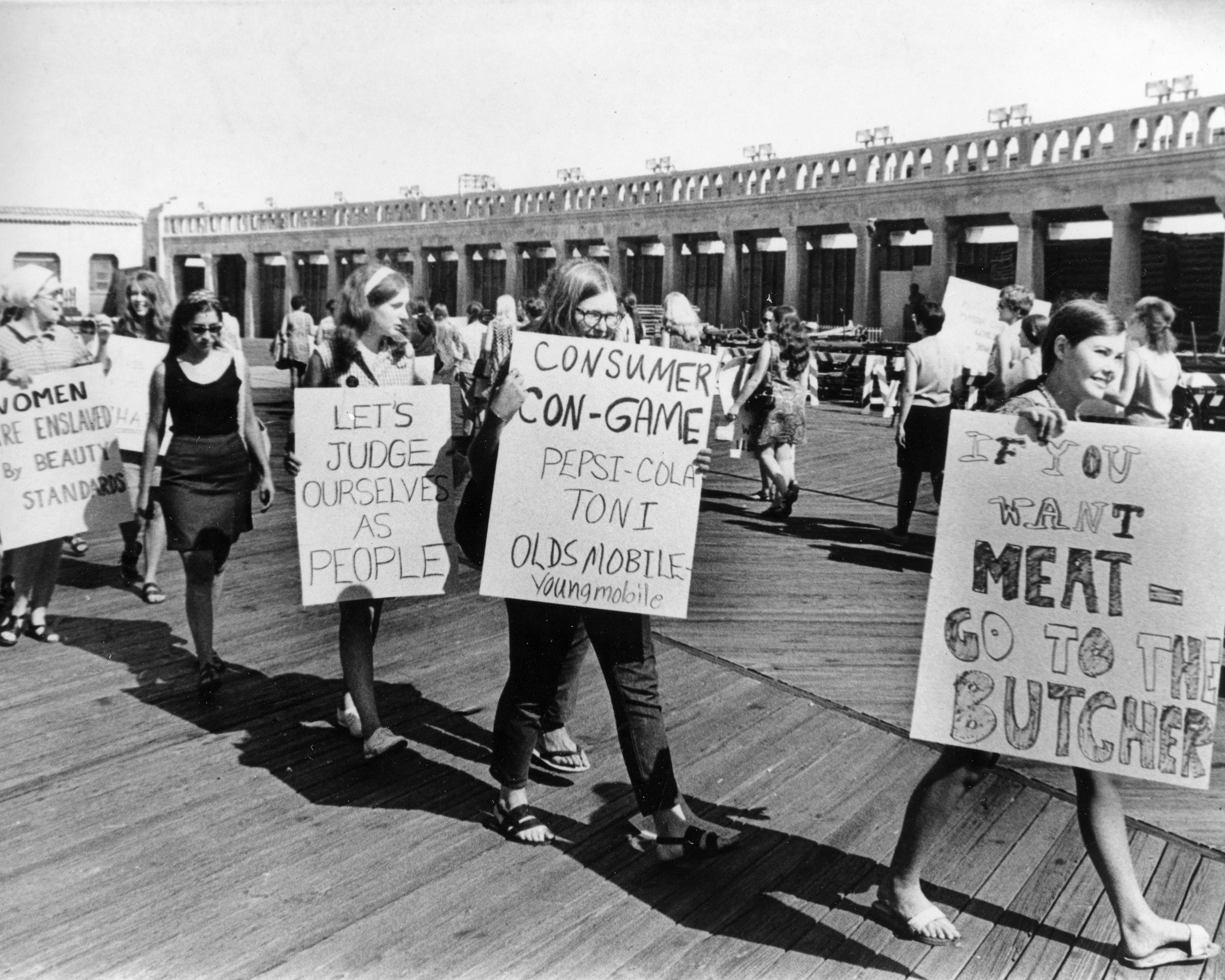 A Timeline Of 1968 The Year That Shattered America Miss America Womens Movement Feminist History