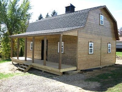 Best Gambrel Cabins For Sale In Ohio Amish Buildings Shed 400 x 300