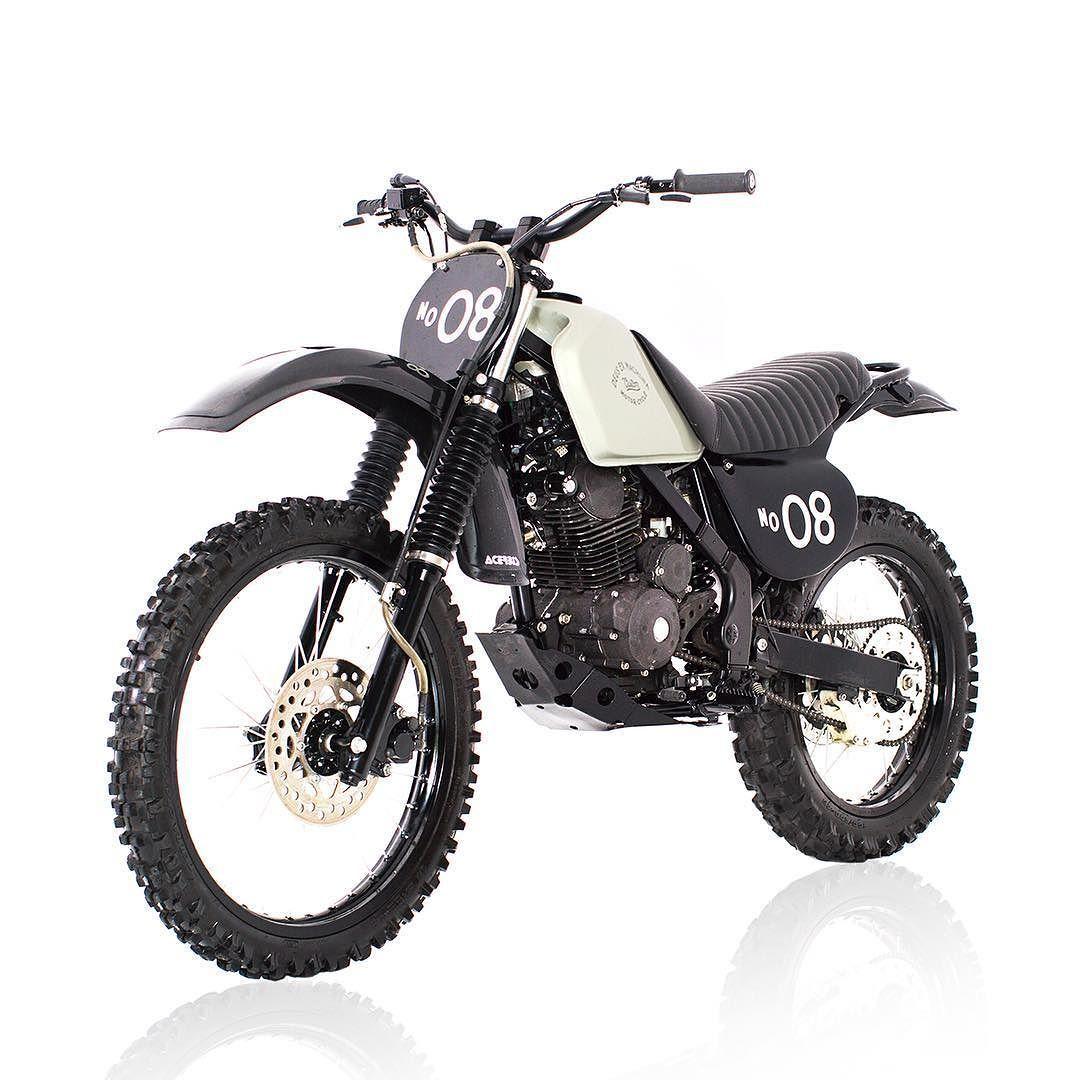 Deus Ex Machina Indonesia On Instagram Dirt Bikes Aren T Always Gaudy Plastic Creations In Orange Yellow Motorcross Bike Trail Motorcycle Custom Dirt Bike