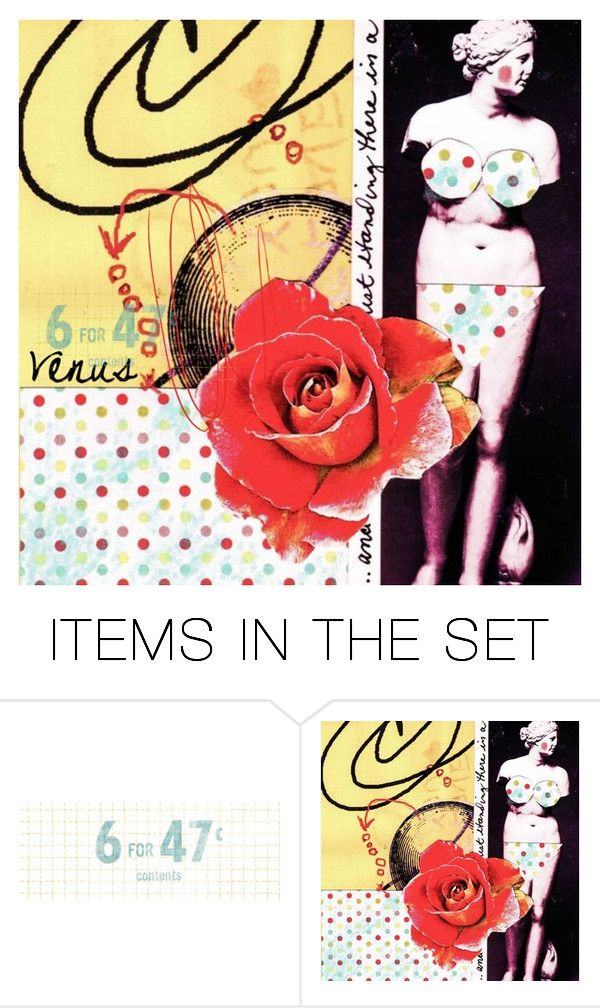"""""""Venus and the Rose"""" by glennie ❤ liked on Polyvore featuring art"""
