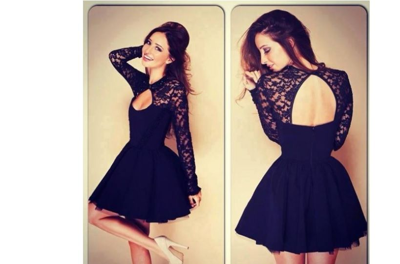 """The Emporia """"Vestido""""! The dress you desire -- perfect for formal events.   Please check the size chart before ordering."""