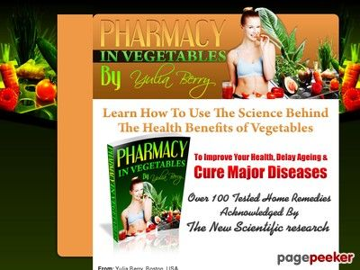 """Pharmacy In Vegetables - http://positivelifemagazine.com/pharmacy-in-vegetables-2/ http://pagepeeker.com/t/l/www.pharmacy-in-vegetables.com%2f  Pharmacy In Vegetables     ***Get your free domain and free site builder***  Interested? Click here to learn more!    Please follow and like us:  var addthis_config =   url: """""""",  title: """""""""""