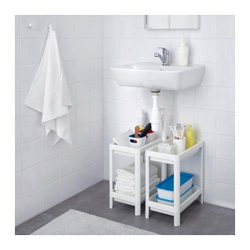 VESKEN Prestatgeria - blanc - IKEA   Pensili da bagno ...