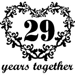 Wedding Anniversary 29 Years Together 2 4 2013 And 32 Years Of