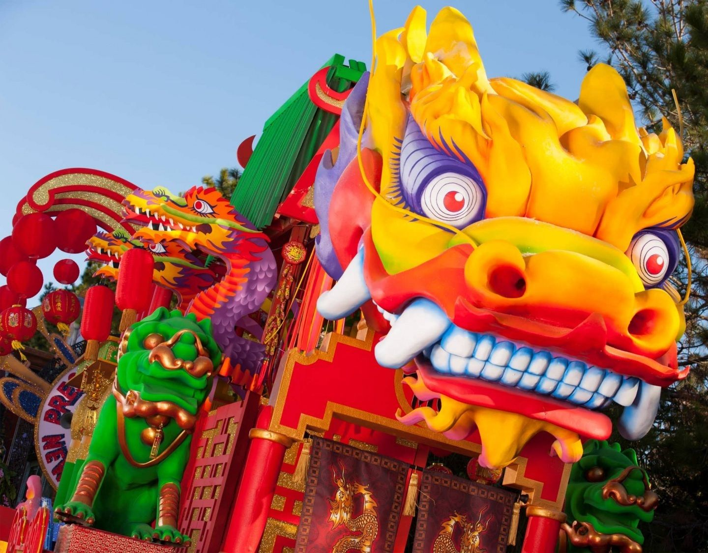 Chinese New Year Dragon Costume Dragon Cloudpix Parade Float Chinese New Year Dragon Mardi Gras Parade Float