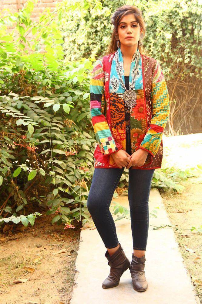 d503daa81c Indian Kantha Cotton Handmade Ethnic Jacket Vintage Modern Girl Jacket  #JBJ-140 #Unbranded #VintageJackets #FormalCasual