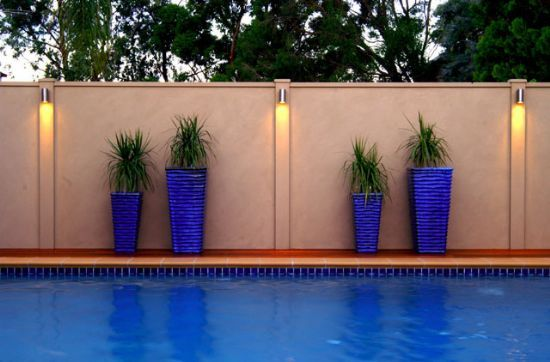 Flush Solar Wall Lights : exterior boundary wall designs - Google Search fences Pinterest Walls, Modular walls and House