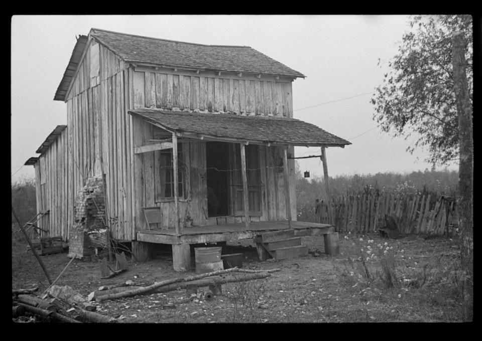 Sharecropper's home...Arkansas
