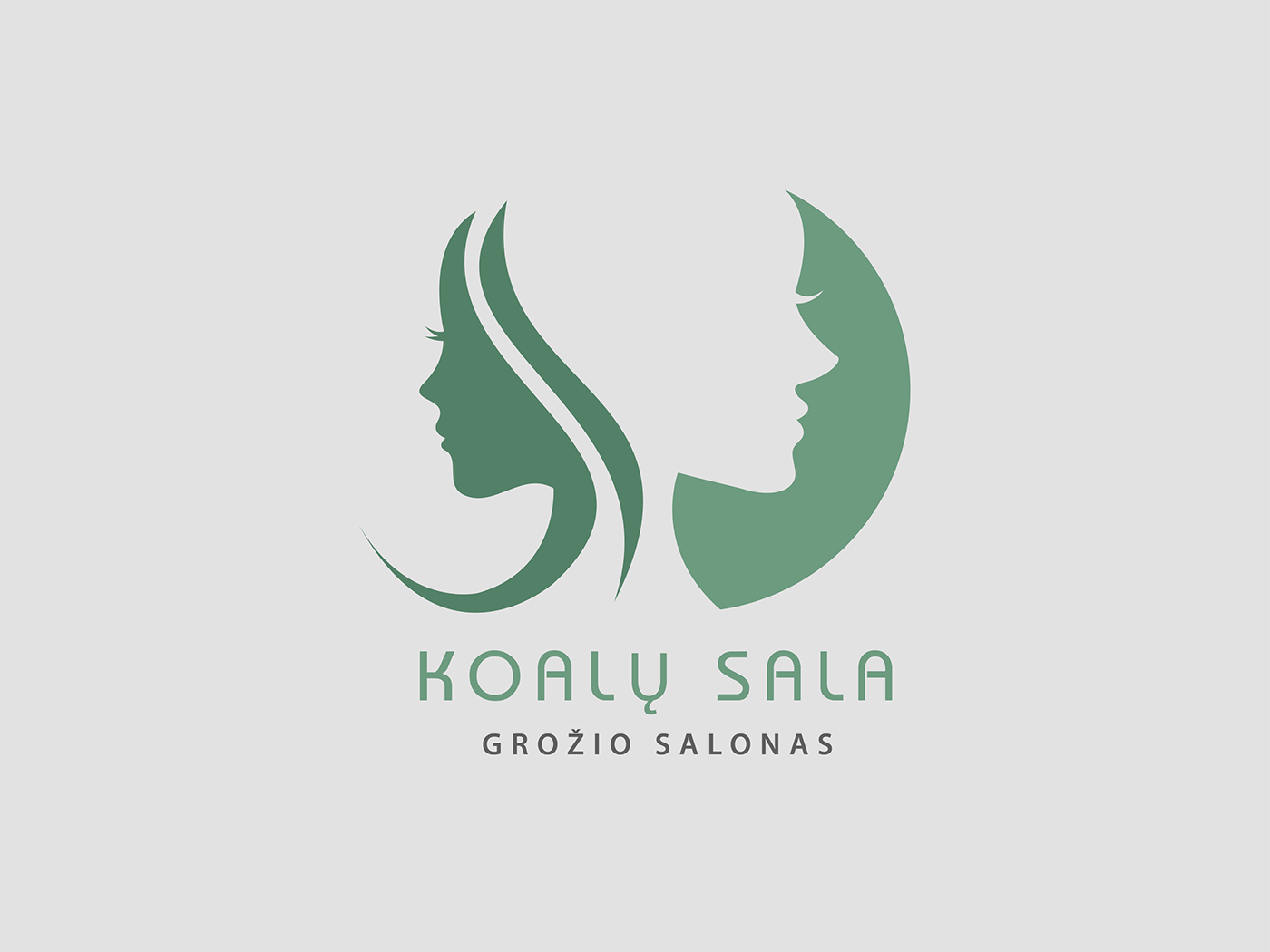 beauty salon logo redesign on behance � idea collection