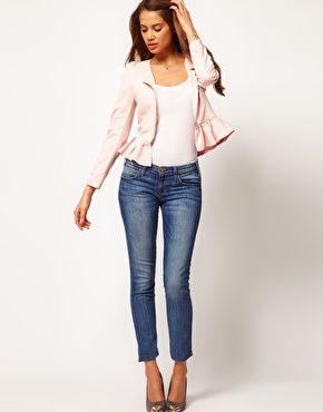 love the peplum jacket