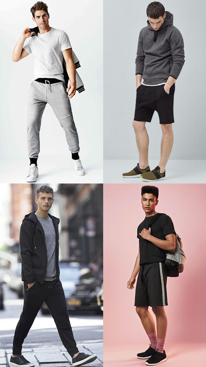 Men\u0027s Athleisure and Sportswear Outfit Inspiration Lookbook