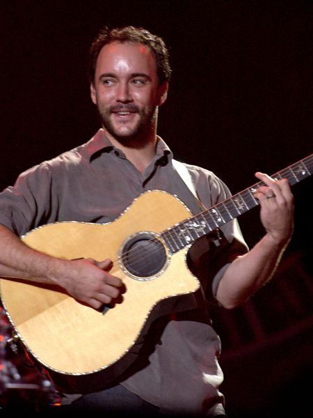 Dave Matthews Band performs in Central Park on September 24