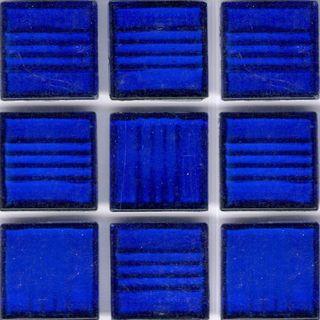 Clear Cobalt Blue 34inch Glass Tile Overstockcom Shopping