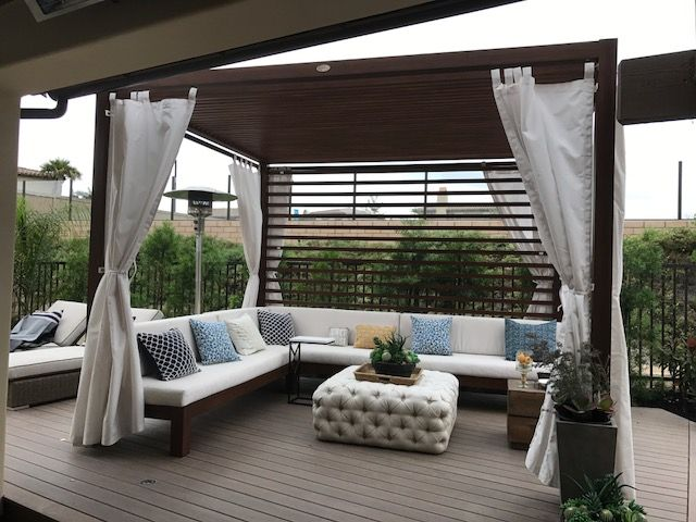 Stunning Cabana Delivery by Summerset Superstore! #diy # ... on Summerset Outdoor Living id=93326