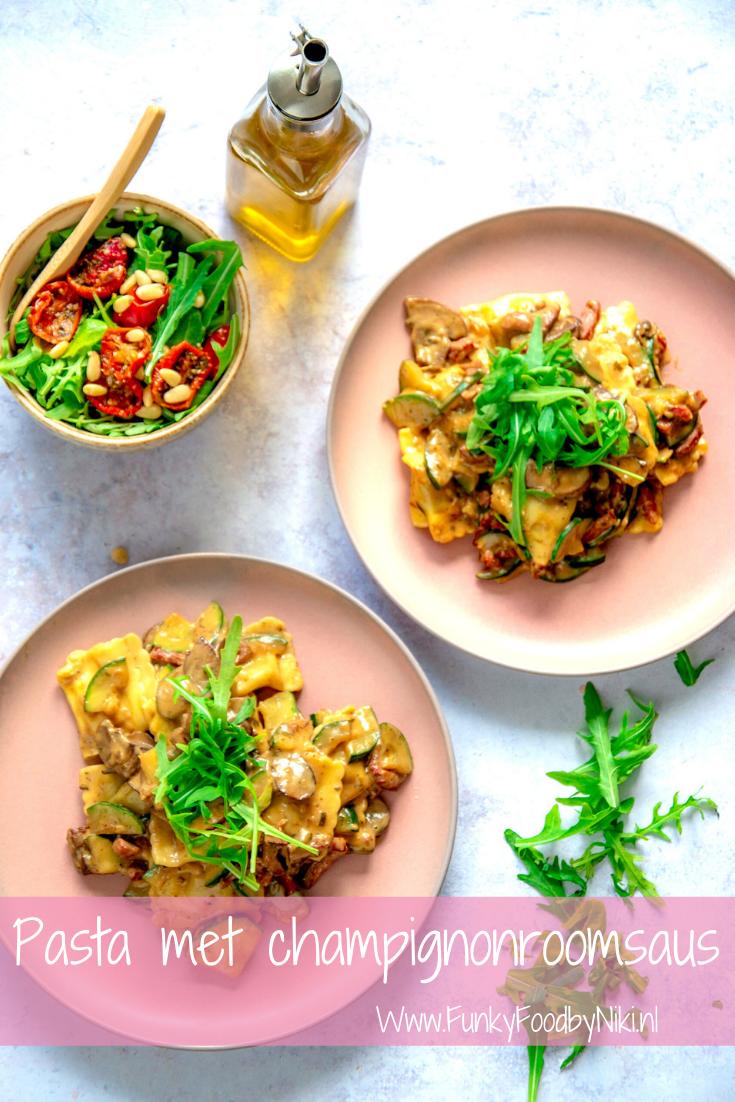 Verrassend Pasta met Champignonroomsaus (met afbeeldingen)   Gezonde pasta's ID-31