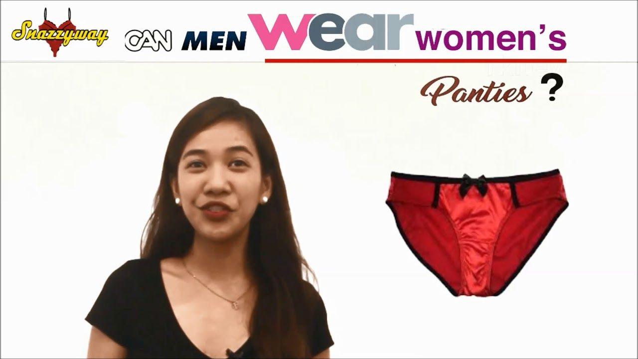 Men That Model Wear Panties