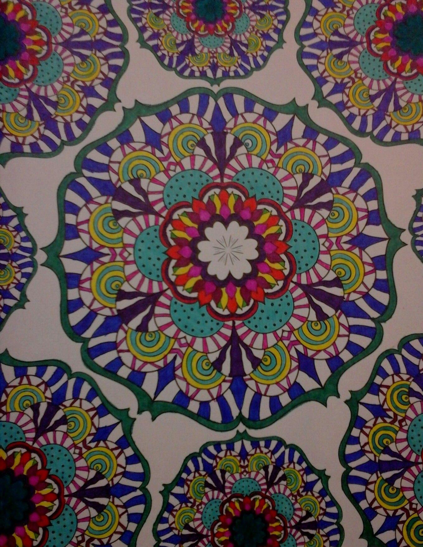 - Mandala Wonders Color Art For Everyone Colorful Art, Art, Mandala