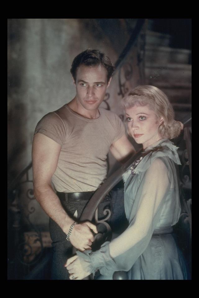 Marlon Brando & Vivien Leigh in A Streetcar Named Desire