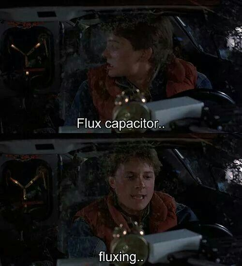 Flux Back To The Future Movie Funny Moment Marty Mcfly With