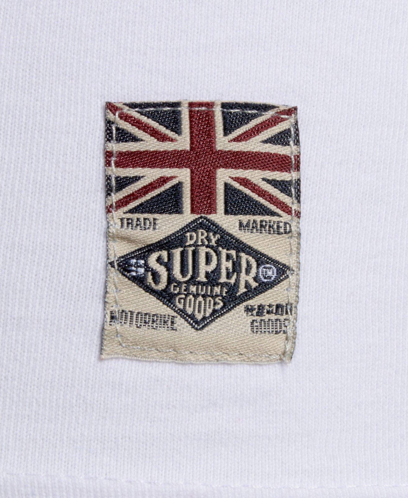 Design t shirt label - Details About New Mens Superdry Factory Second Leathers Classic Biker T Shirt Optic