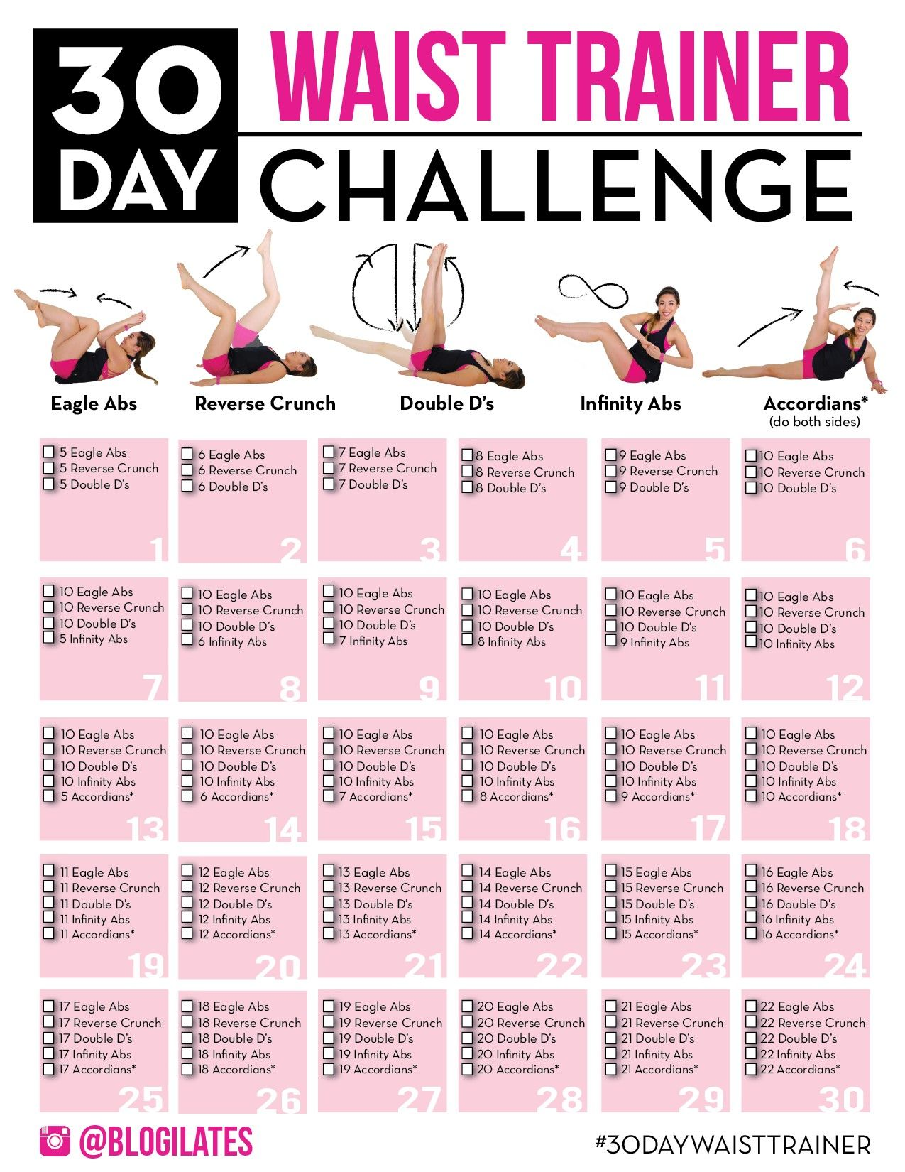 Pin By Am Heger On Workouts Workout Challenge 30 Day Fitness