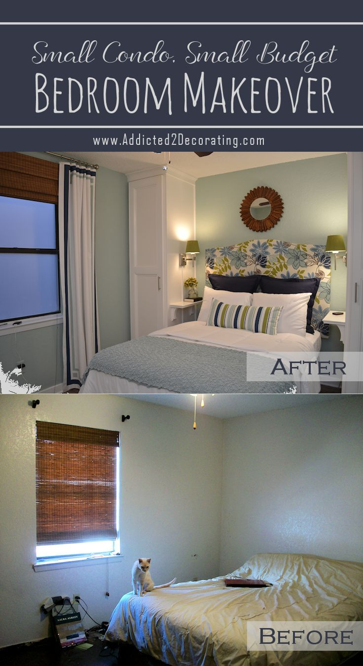 Small Condo Small Budget Bedroom Makeover Before
