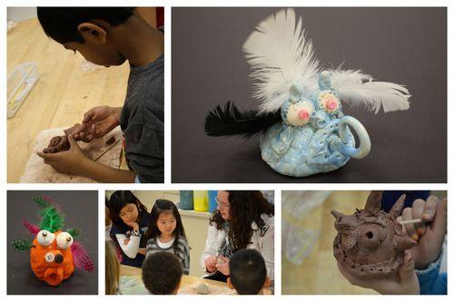 Digication e-Portfolio :: Holly Cloer: MAT Portfolio :: 2nd Grade: Clay Creatures