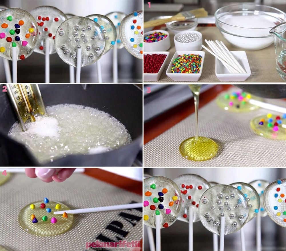 Photo of Ingredients 1 cup powdered sugar 2 tablespoons of water Colorful …