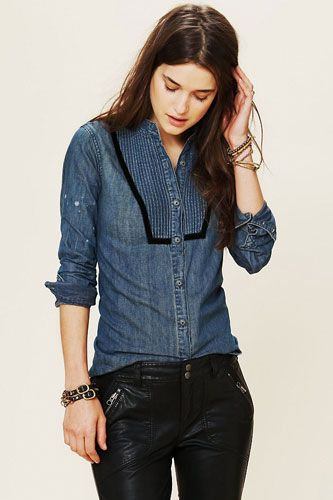 Classic Chambray Shirts That Will Put In Some Serious Wardrobe Work