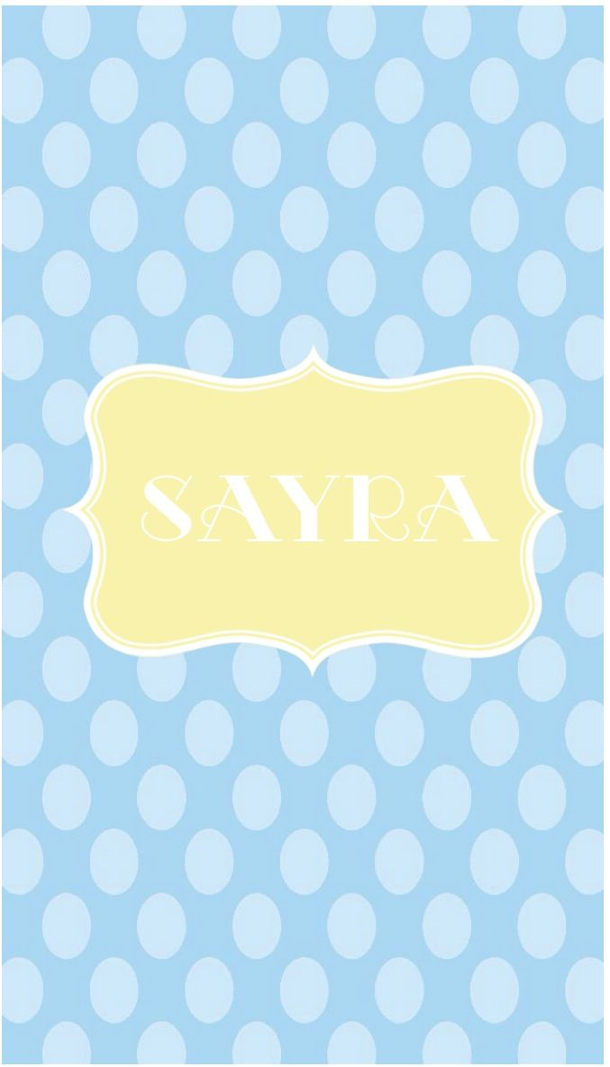 Sayra In Baby Blue And Yellow Cute Wallpapers Phone Wallpaper Wallpaper