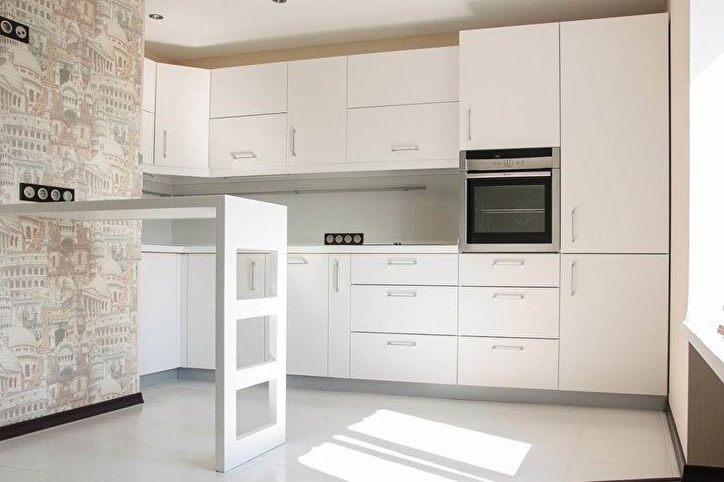 Барная стойка для кухни - фото | Кухня, Дизайн, Дизайн кухни