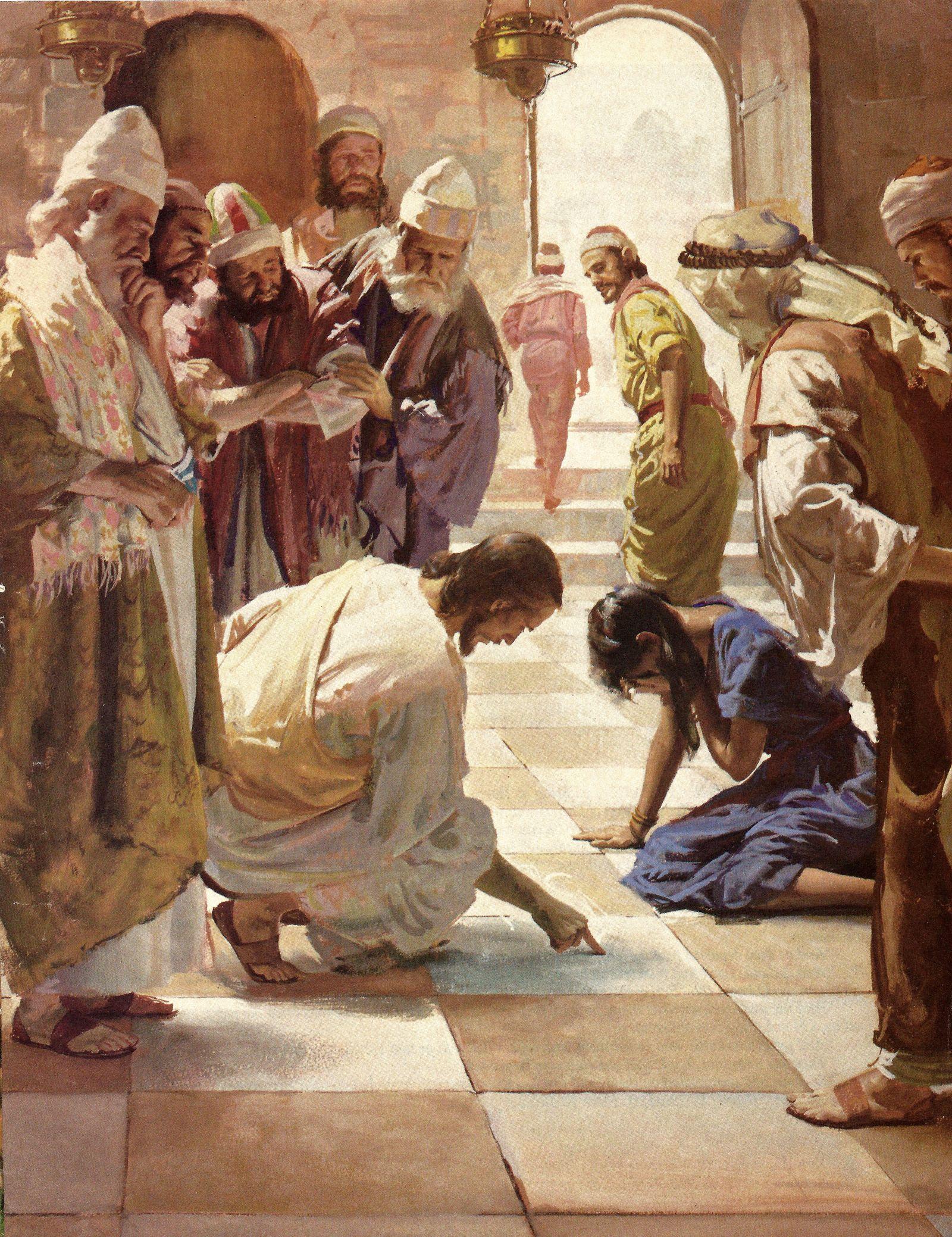 Harry Anderson | Biblical art, Christian artwork, Bible art