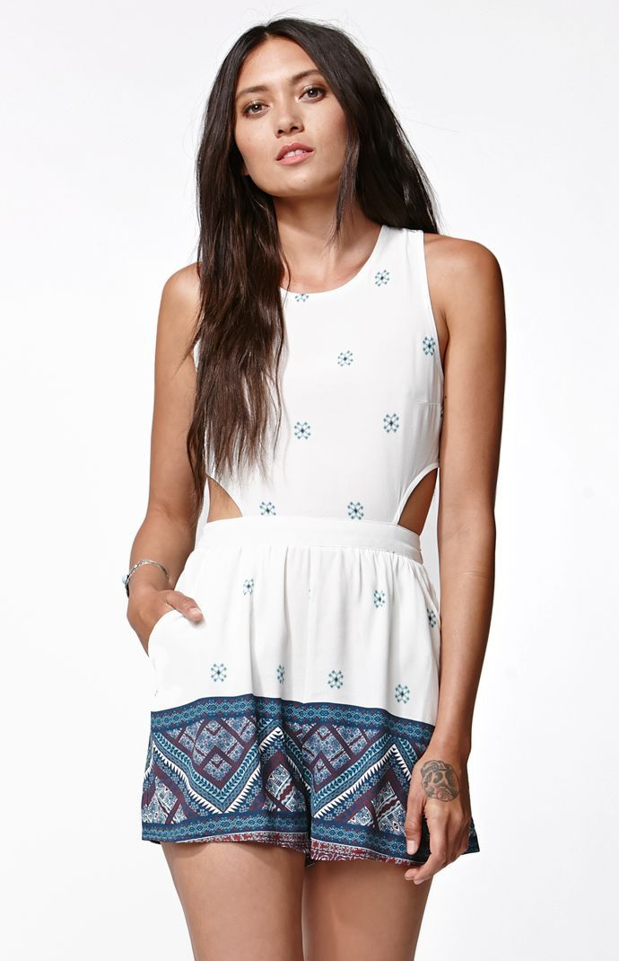 59dccce3d4bb Kylie and Kendall collection from PacSun. I want this romper so bad! Link  below