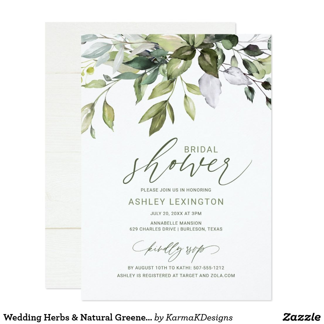 Eucalyptus Save the Date Nature Engagement Announcement Herbal Save-the-Date Card Greenery Wedding Announcement Botanical Save our Date