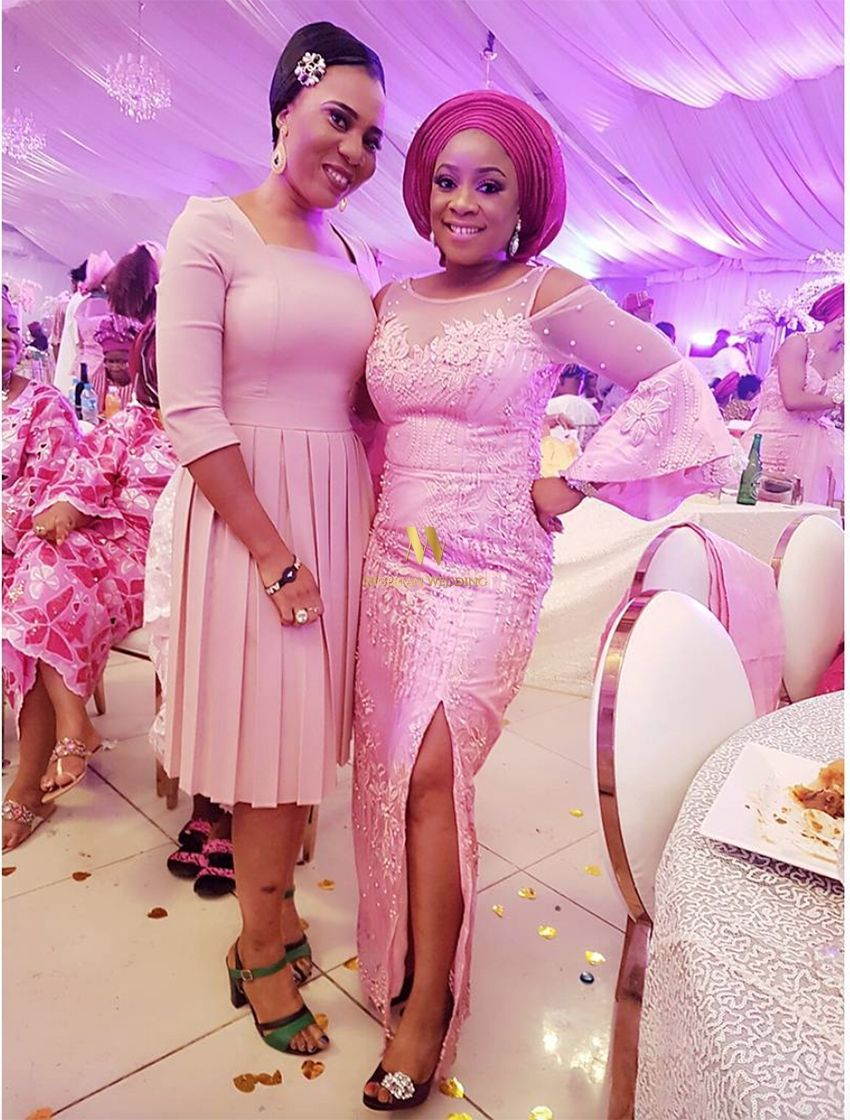 Nigerian Celebrity Wedding: Official Photos From Stephanie Coker ...