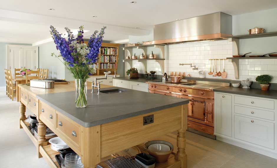 Kitchen Stone Flooring and stone worktops, stone wall tiles My