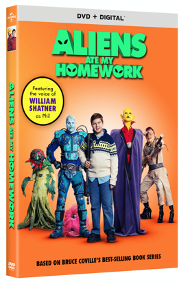 A Modern Day Fairy Tale Aliens Ate My Homework A Family Movie