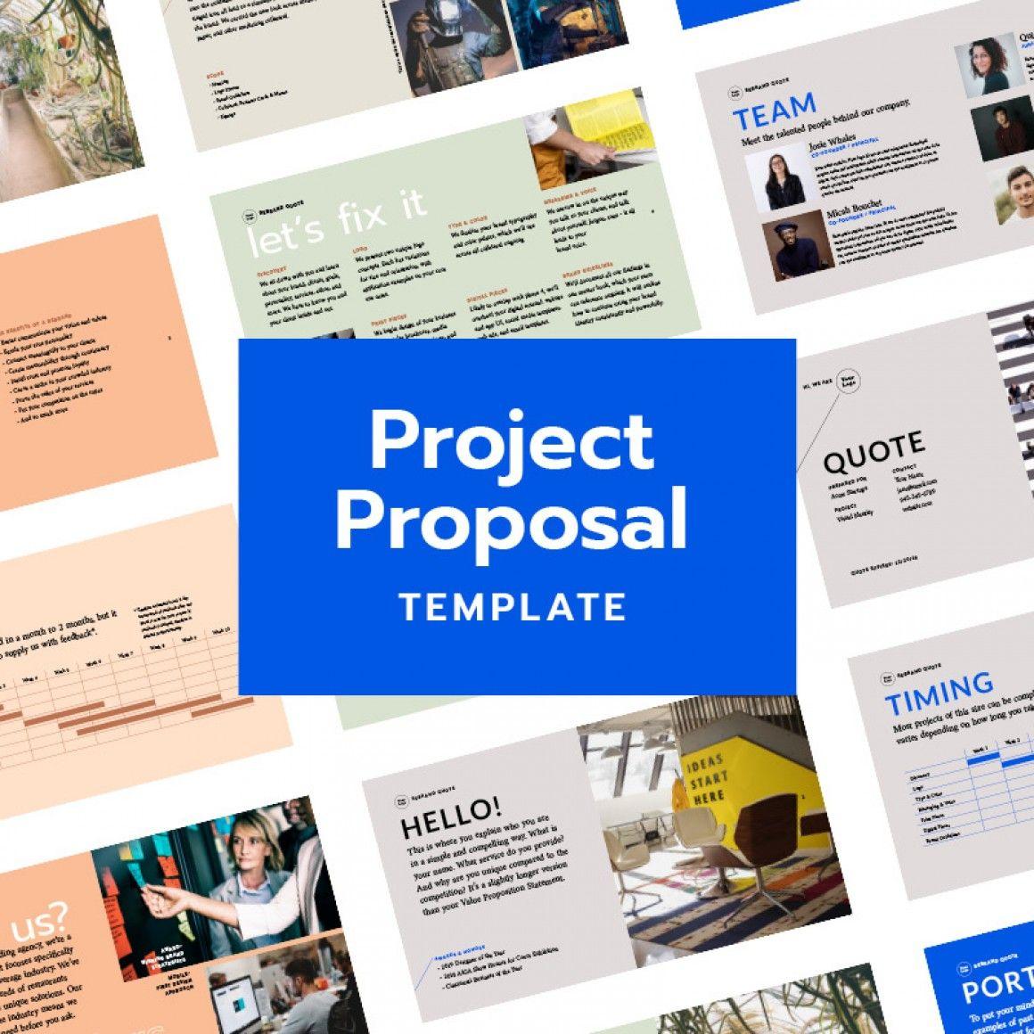 Shop Hoodzpah Design Project proposal template
