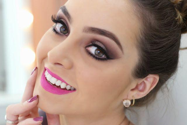 Michelli Make Up: Maquiagem Clássica Nude com Tons Opacos
