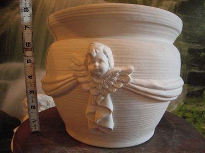 Hey, I found this really awesome Etsy listing at https://www.etsy.com/listing/124404985/large-cherub-pot-cherub-planter-cherub