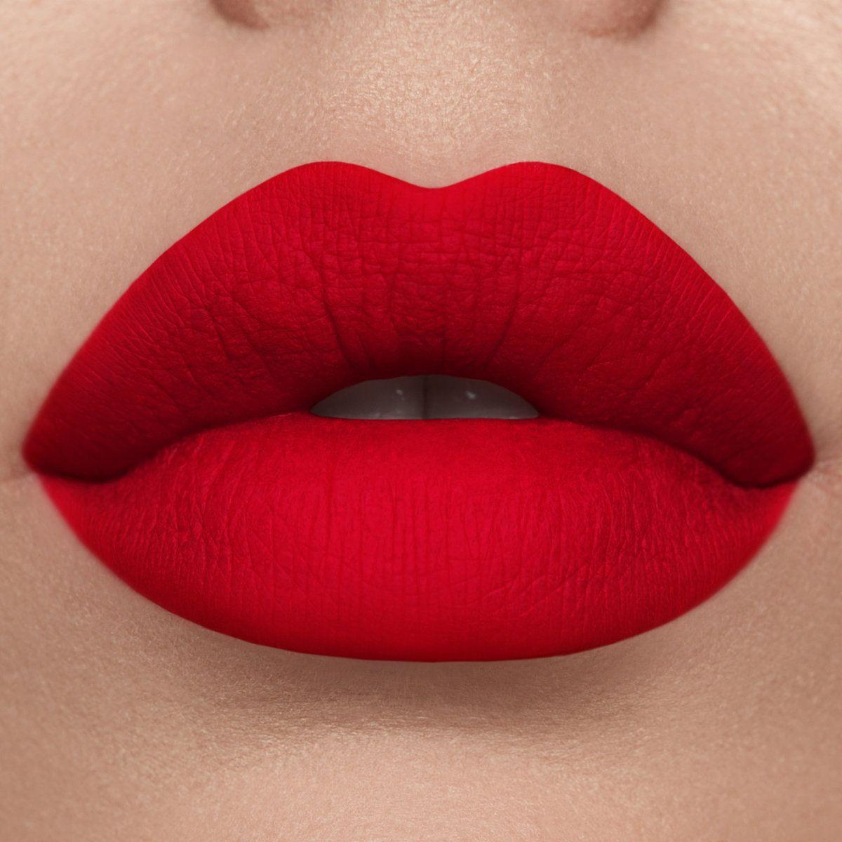 Red Velvet Matte Lipstick True Red In 2020 Red Lipsticks Lip