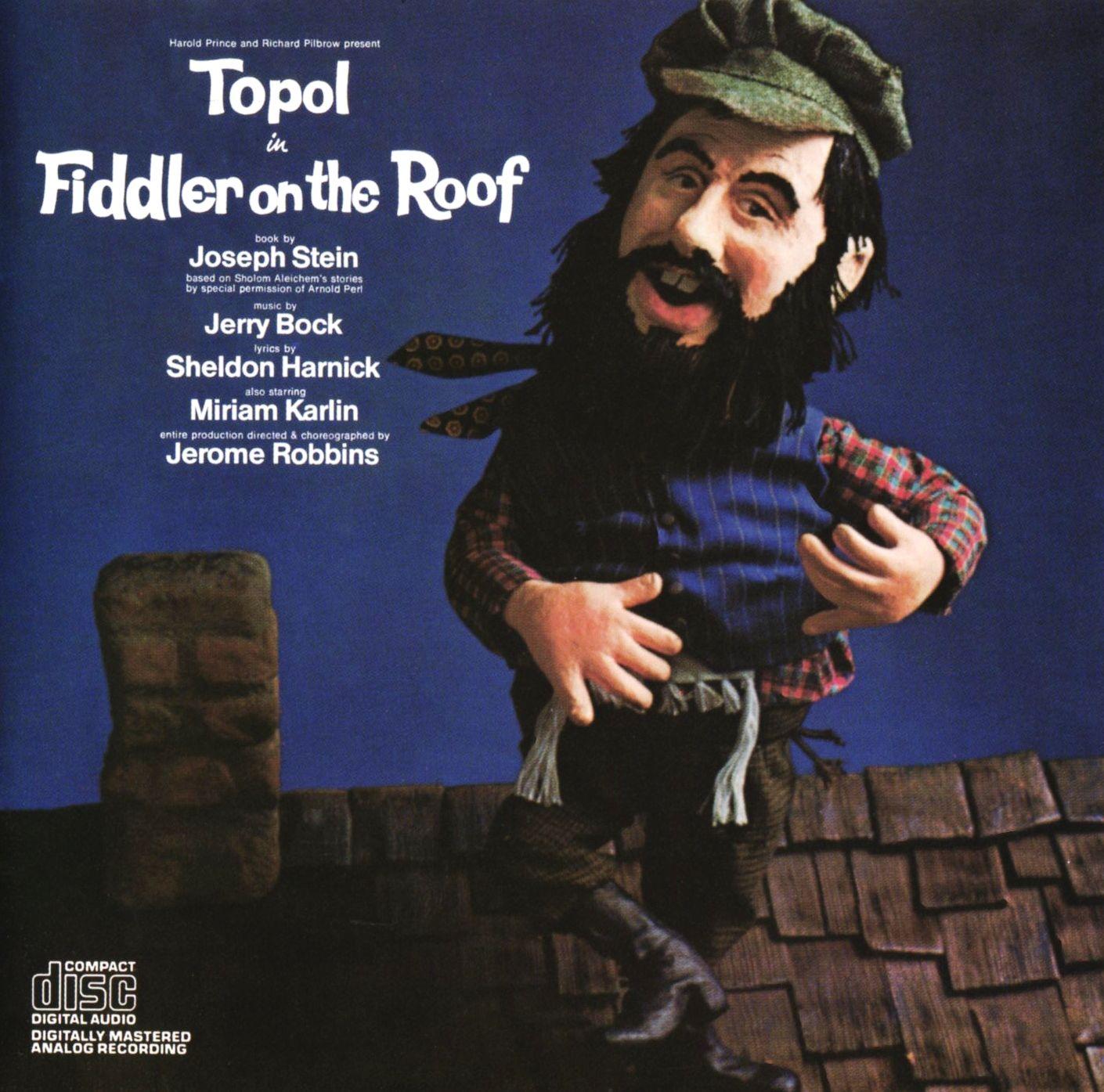 Topol in Fiddler on the Roof, Harold Prince, Richard