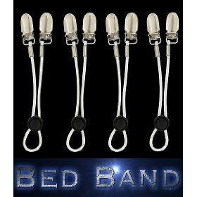The ORIGINAL Bed Band. Adjustable Fastener/Holder/Strap for Your Sheets. Patent Pending. $12.09