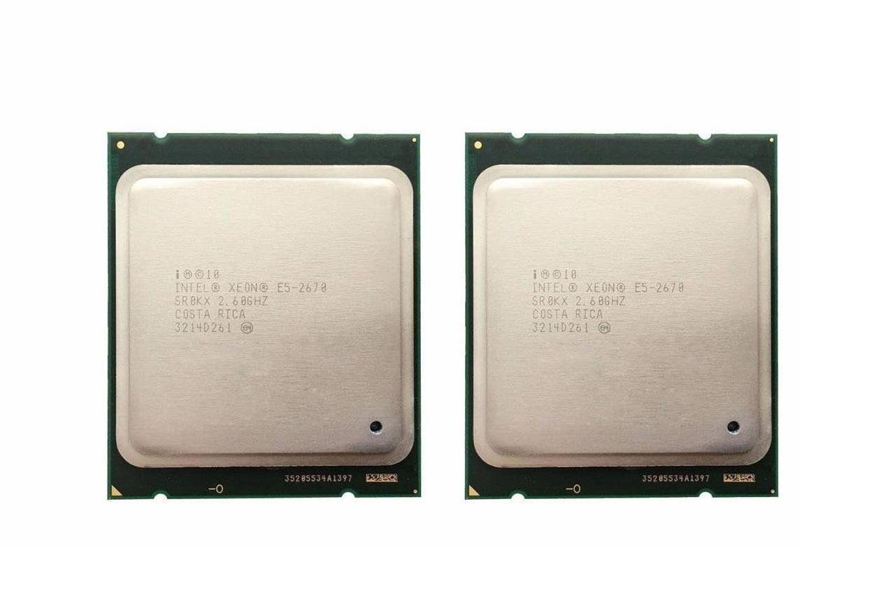 Matching Pair Intel Xeon X5365 SLAED 3.0GHz Quad Core Socket 771 CPU Processor