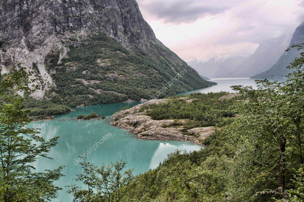Beauty Norway Summer Norwegian Landscape - Stock Photo , #ad, #Summer, #Norway, #Beauty, #Norwegian #AD