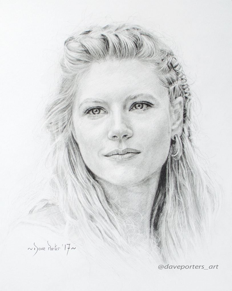 """David Porter on Instagram: """"Pencil drawing (Finished Portrait) of Lagertha (Katheryn Winnick) from the TV History Channel series... Vikings. Hope you like the finish…"""" -  David Porter on Instagram: """"Pencil drawing (Finished Portrait) of Lagertha (Katheryn Winnick) fro - #Channel #David #Drawing #Finish #Finished #History #Historychannel #Historydesenho #Historystickers #Historyweb #hope #Instagram #Katheryn #Lagertha #Pencil #Porter #Portrait #series #Vikings #Winnick"""