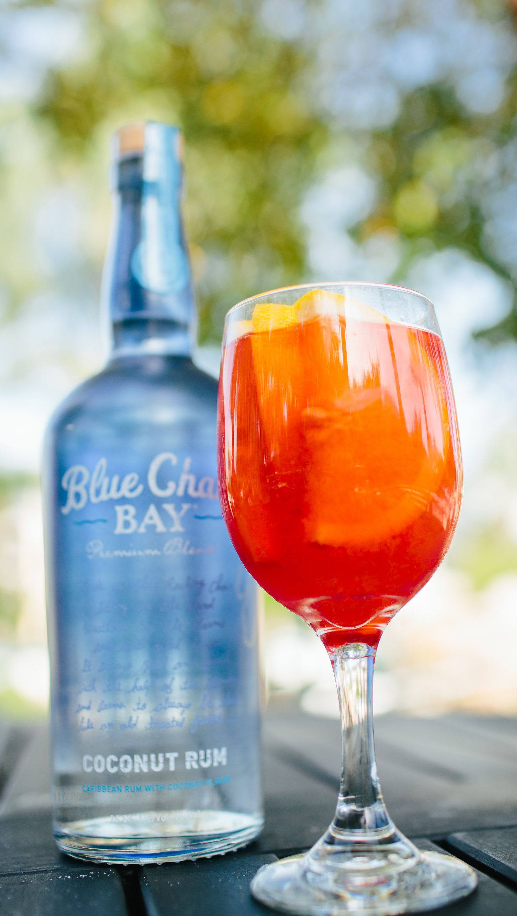 RED OCTOBER COCKTAIL 1 5 oz Blue Chair Bay Coconut Rum 1 5